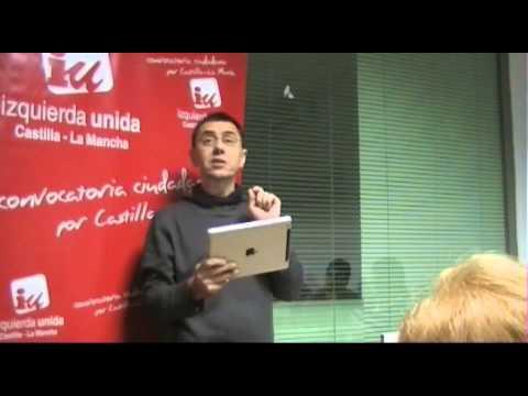 Juan Carlos Monedero Curso Urgente De Política Para Gente Decente 23 11 2013 Youtube