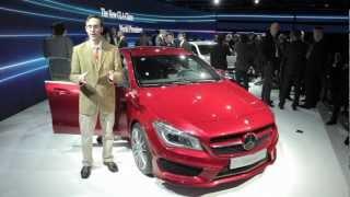 2014 Mercedes-Benz CLA - 2013 Detroit Auto Show