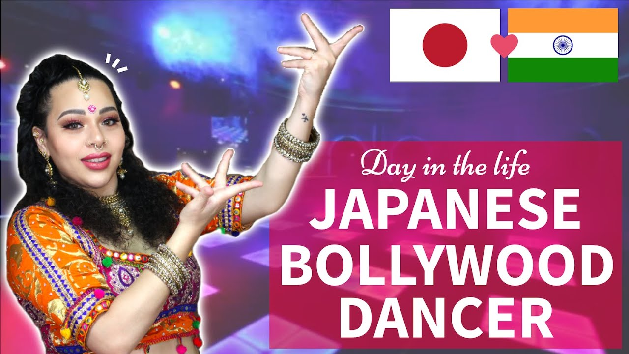 Day in the Life of a JAPANESE BOLLYWOOD DANCER inTokyo, Japan