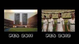 PES 2011 VS PES 2012 - PC - GRAPHICS