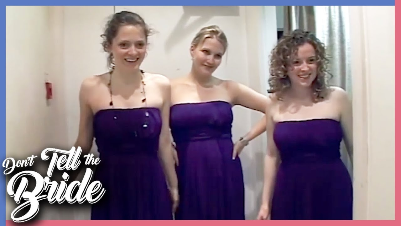 Bride HATES Purple So Groom Gets These Dresses 😂 | Don't Tell the Bride