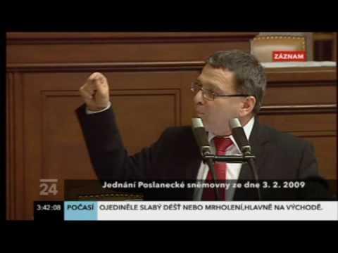 Zaorálek před hlasováním o 'Lisabonu'