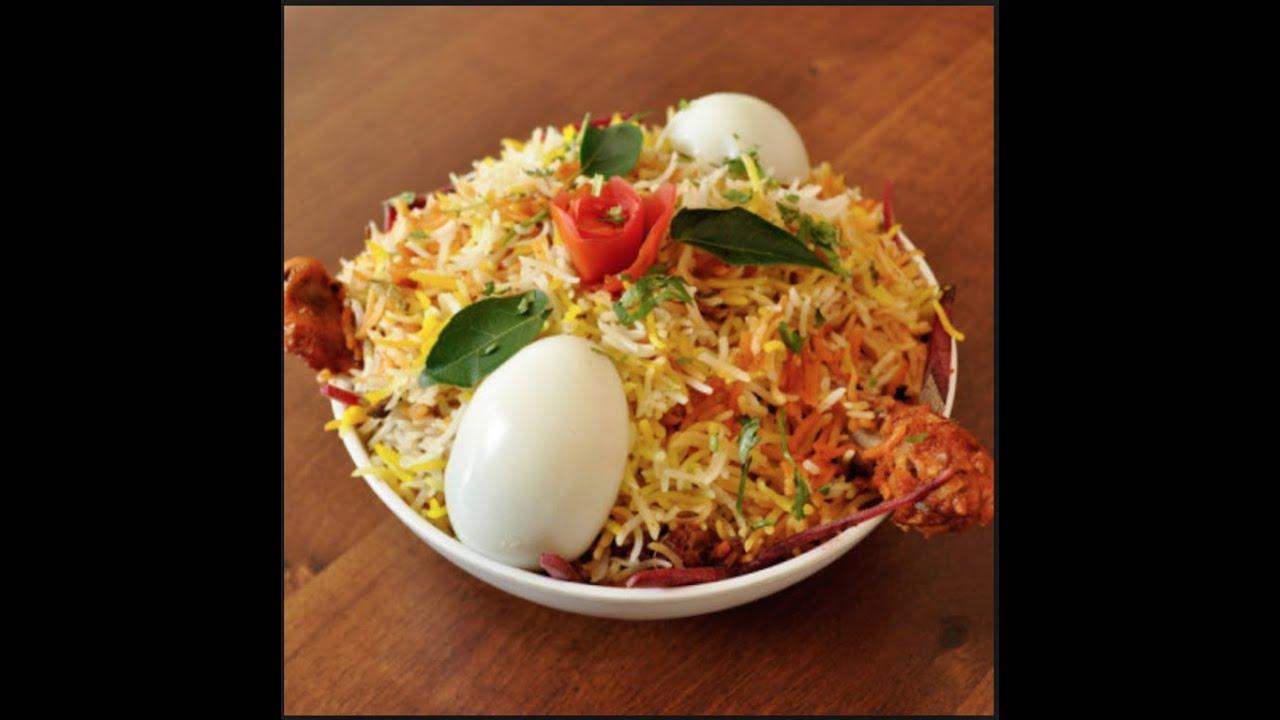 Hyderabadi C... Hyderabadi Chicken Biryani