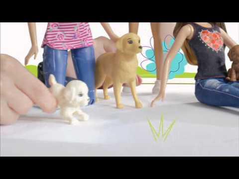 Barbie cyklistka a psí akrobati tv spot cz