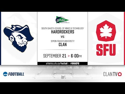 SFU Football Vs South Dakota School Of Mines And Technology - September 21, 2019