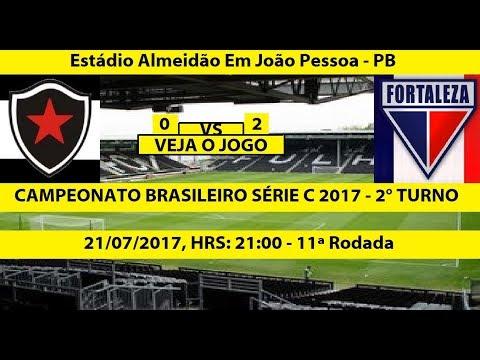 CAMPEONATO BRASILEIRO SERIE C 2017 BOTAFOGO-PB 0 X 2 FORTALEZA-CE