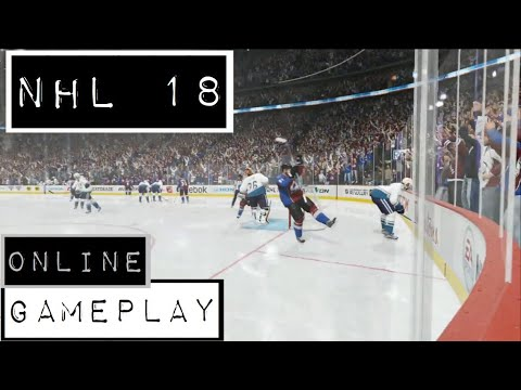 NHL 18 - PS4 - Online Co-op Gameplay - Nearly Made A Comeback!