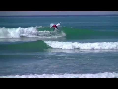 Sebastian Zeitz Surfing Trestles and Huntington Beach California 2013 Highlights