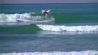 Sebastian Zeitz Surfing Trestles and Huntington Beach California 2013 Highlights