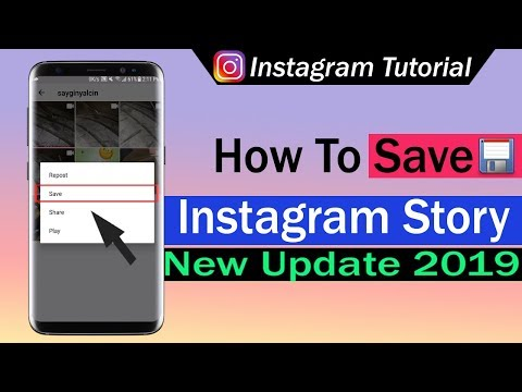 How To Save Instagram Story - YouTube