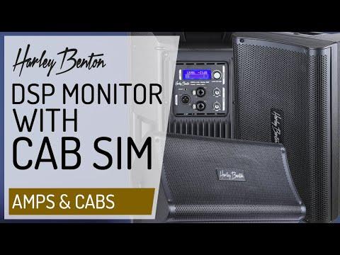 Harley Benton - Guitar DSP Monitor with built in Cab Simulations - Presentation