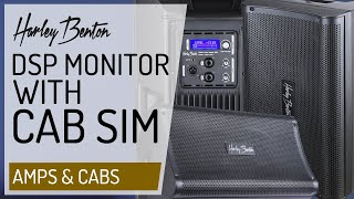 Harley Benton - Guitar DSP Monitor with built in Cab Simulations - Presentation