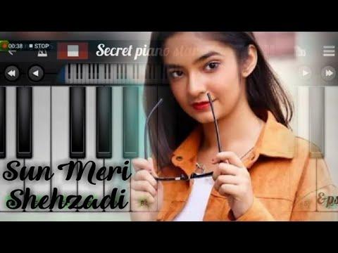 Sun Meri Shehzadi Piano Tutorial Rawmats Krishna Singh Saaton Janam Mein Tere Slow Mobile Youtube