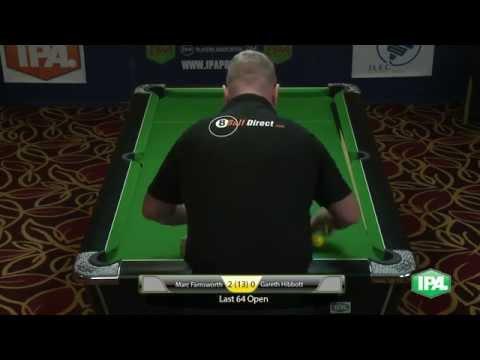 IPA Pool Tour 2015 Marc Farnsworth v Gareth Hibbott