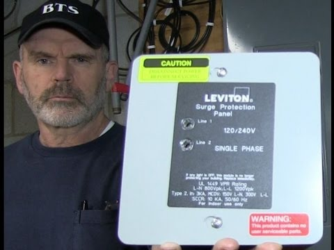 Leviton 51120-1 Whole House Surge Suppressor Installation