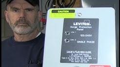 Leviton 51120-1 Whole House Surge Suppressor Installation