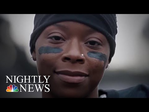 Meet The Woman Who's Been Offered Six College Football Scholarships | NBC Nightly News
