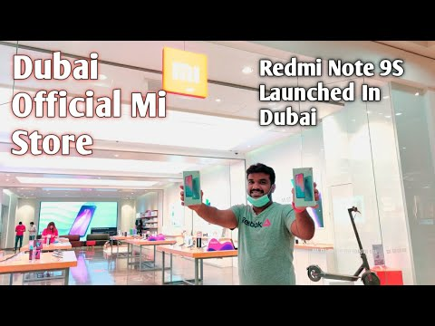 Xiaomi official store Dubai.. Redmi Note 9 S Launched UAE