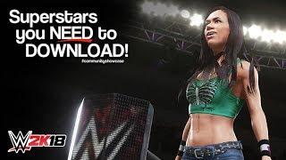 Download 2K18 WWE: AJ Lee (Süper!) (PlayStation 4)
