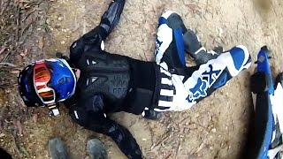 BRUTAL AND FUNNY DIRTBIKE CRASHES
