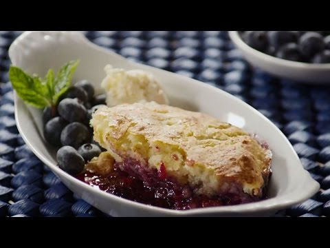 How to Make Blueberry Cobbler | Blueberry Recipes | Allrecipes.com