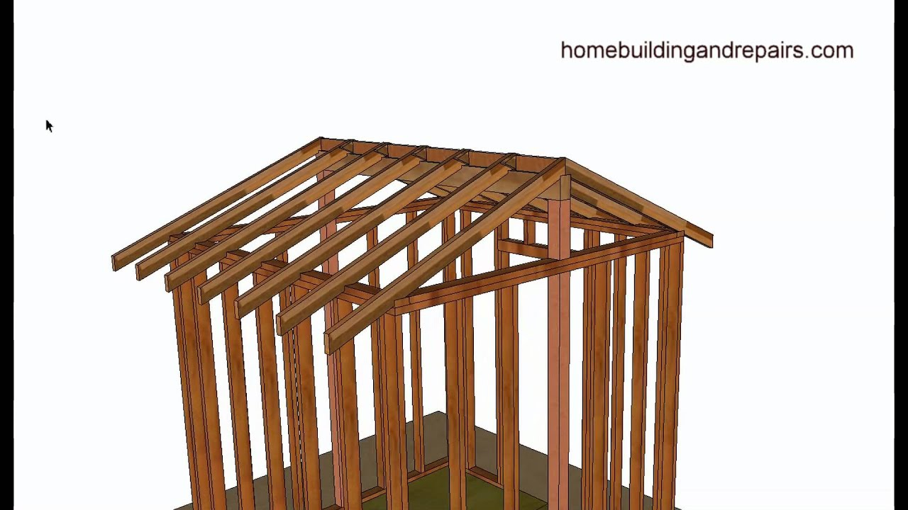 vaulted or cathedral roof framing basics - home building and
