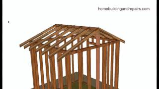 Vaulted or Cathedral Roof Framing Basics - Home Building and Remodeling Tips