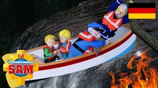 Feuerwehrmann Sam Deutsch Neue Folgen | Norman der Rennfahrer -  Wasser rettet | Cartoons für Kinder