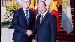 MACRI EN VIETNAM: SE REUNIO CON EL 1º MINISTRO