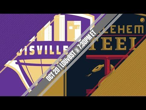 2017 #USLPLAYOFFS - Louisville City FC vs Bethlehem Steel FC 10/20/17
