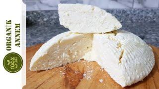 Organik Annemden Çerkez (Sepet) Peyniri Tarifi