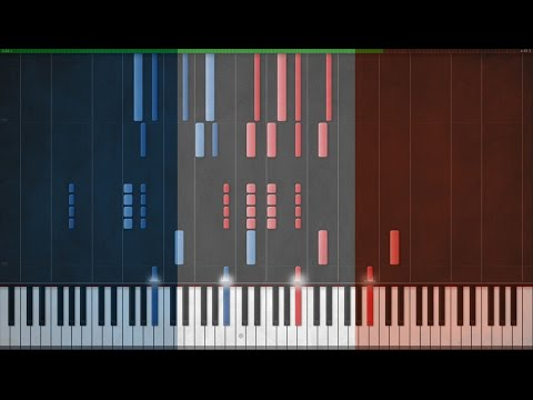 La Marseillaise - National Anthem of France [Piano Tutorial] (Synthesia)