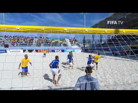 Match 30: Italy v Brazil - FIFA Beach Soccer World Cup 2017