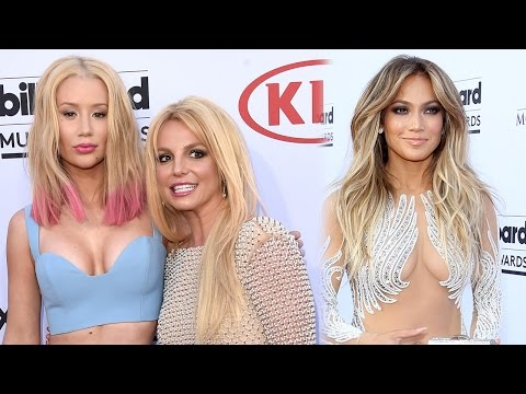 Iggy Azalea, Britney Spears, Jennifer Lopez Shocking 2015 Billboard Music Awards Fashion