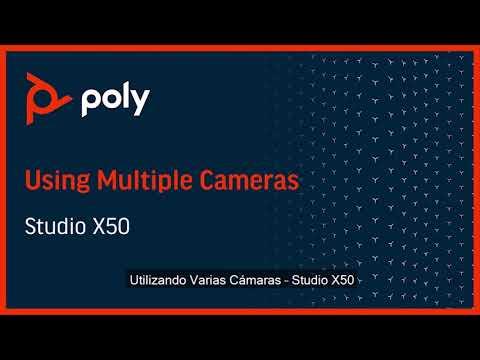 Poly Studio X50 con soporte de Múltiples Cámaras - Español
