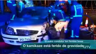 Accidente na ponte de Rande dun veciño de Soutomaior