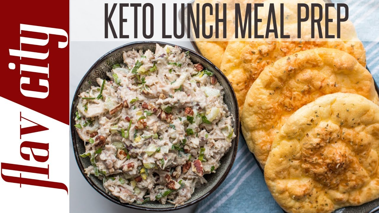 Keto Lunch Recipes For Work & School - Low Carb Meal Prep For Ketogenic Diet - YouTube