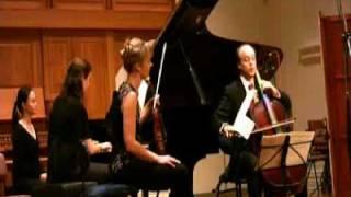 Seraphim Trio perform Mendelssohn trio