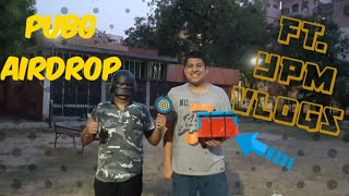 PUBG MOBILE Real Airdrop Uboxing !! | FT. YPM Vlogs | SK Vlogs