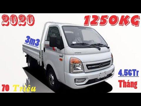 Xe tải Daisaki Isuzu 1.25 Tấn thùng 3m3 | Bán Xe tải Daisaki 1.25T đời 2020 giá tốt