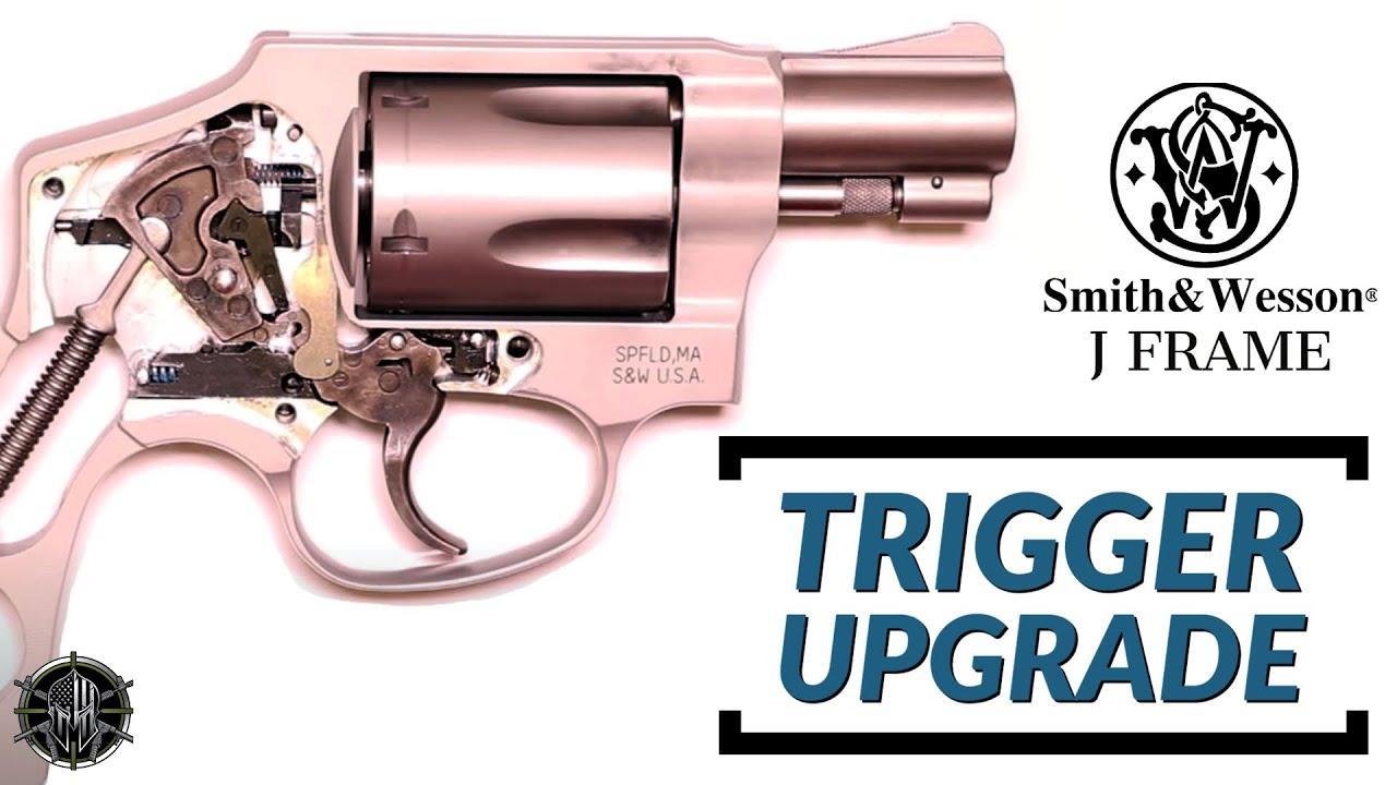 S&W J Frame Revolver Trigger Spring Kit - M*CARBO S&W J Frame Trigger Job