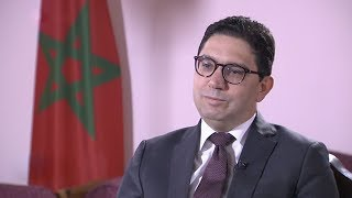 Moroccan Foreign Affairs Minister visits China