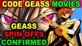 Code Geass Movies Release Date Announced!! Code Geass Spin-off Coming Soon - Code Geass R3 Season 3?