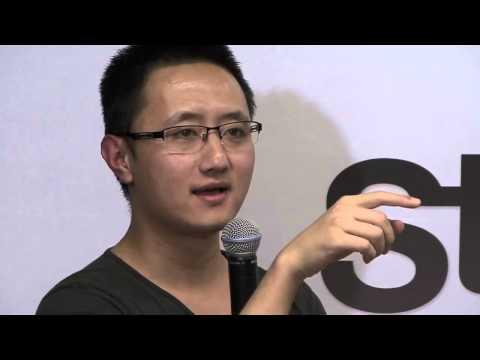 Rick Chen (Pozible) at Startup Grind Melbourne