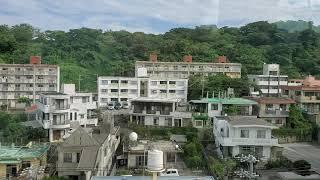 沖縄を走るモノレール「ゆいレール」で、浦添城跡を目指して進む!①(View of Yui monorail, in Okinawa-JAPAN)
