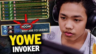 WHEN YOUNG TALENT MEETS PRO PLAYER | EPIC MID BATTLE YOWE INVOKER vs NOONE CM MID - DOTA 2 INVOKER