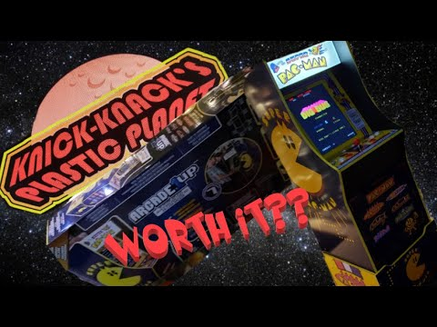 Arcade 1up Super Pac-Man Costco Exclusive Cab - A Novice Review from Knick-Knack's Plastic Planet