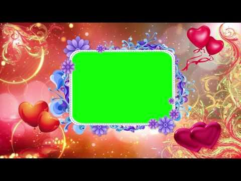 Free Wedding Green Screen Background Effect HD,Green Screen background Animated video HD thumbnail
