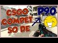 COMPETITIVO SÓ DE P90 NO CS:GO - O CHORO FOI TENSO!!!