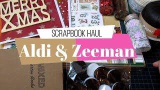 Compras scrapbook haul en Aldi y Zeeman de Bélgica